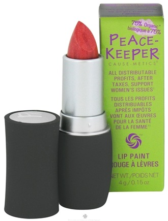 DROPPED: PeaceKeeper Cause-Metics - Lip Paint Natural Lipstick Paint Me Oh So Sexy - 0.15 oz. CLEARANCE PRICED