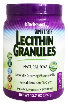 Bluebonnet Nutrition - Natural Soya Lecithin Granules - 1 lb.