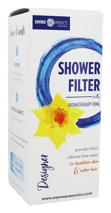 New Wave Enviro Products - Designer Shower Filter Silver Satin Finish