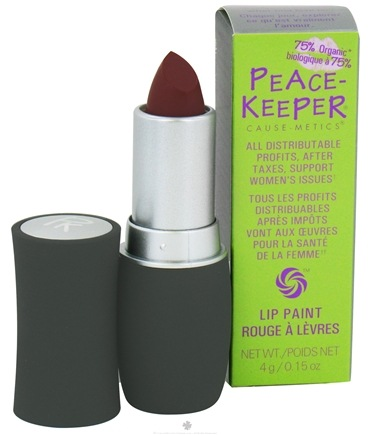 DROPPED: PeaceKeeper Cause-Metics - Lip Paint Natural Lipstick Paint Me Empowered - 0.15 oz. CLEARANCE PRICED