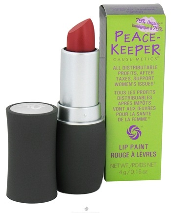DROPPED: PeaceKeeper Cause-Metics - Lip Paint Natural Lipstick Paint Me Wise - 0.15 oz. CLEARANCE PRICED