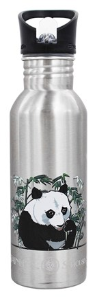 New Wave Enviro Products - Stainless Steel Water Bottlel Endangered Species Giant Panda - 20 oz.