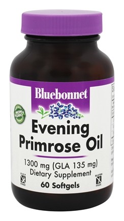 DROPPED: Bluebonnet Nutrition - Evening Primrose Oil 1300 mg. - 60 Softgels