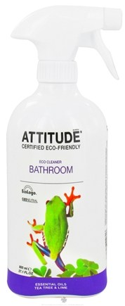 DROPPED: Attitude - Bathroom Cleaner Tea Tree & Lime - 27.1 oz. CLEARANCE PRICED