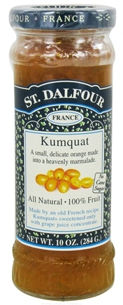 DROPPED: St. Dalfour - Fruit Spread 100% Natural Jam Kumquat - 10 oz.