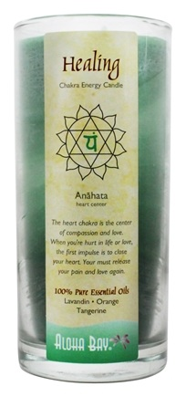 Aloha Bay - Chakra Energy Candle Jar Healing - 11 oz.