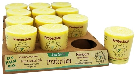 Aloha Bay - Chakra Energy Votive Candle Protection - 2 oz.