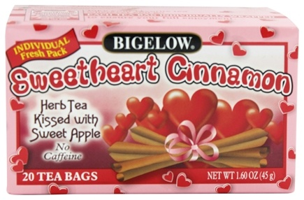 Bigelow Tea - Herb Tea Sweetheart Cinnamon - 20 Tea Bags