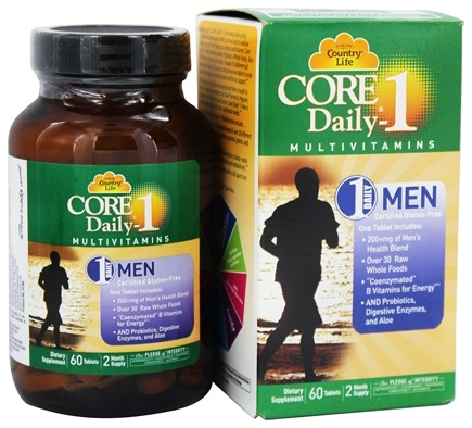 Country Life - Core Daily 1 For Men - 60 Tablet(s) LUCKY DEAL