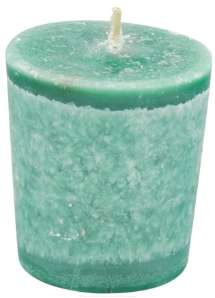 DROPPED: Aloha Bay - Eco Palm Wax Votive Candle Rain Forest - 2 oz. CLEARANCE PRICED
