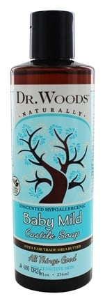 Dr. Woods - Shea Vision Castile Soap With Organic Shea Butter Baby Mild - 8 oz.