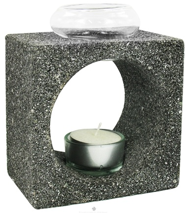 DROPPED: Aloha Bay - Natural Lava Stone Feng Shui Aroma Lamp - CLEARANCE PRICED