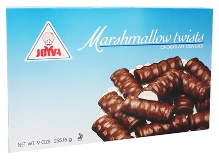 Joyva - Chocolate Covered Marshmallow Twists - 9 oz.