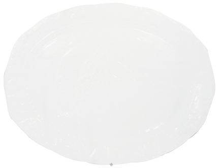DROPPED: Harold Import - Porcelain Turkey Platter White - CLEARANCE PRICED
