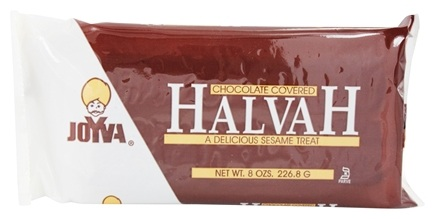 Joyva - Halvah Chocolate Covered - 8 oz.