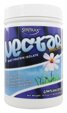 Syntrax - Nectar Medical Whey Protein Isolate Unflavored - 1 lbs.