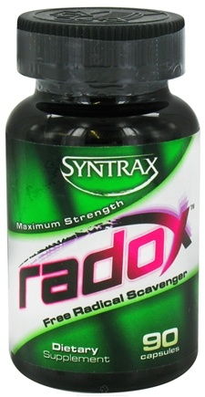 DROPPED: Syntrax - Radox Free Radical Scavenger Maximum Strength - 90 Capsules CLEARANCE PRICED