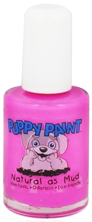 DROPPED: Piggy Paint - Puppy Paint Nail Polish Call of the Wild Bright Pink - 0.5 oz. CLEARANCE PRICED