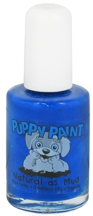 DROPPED: Piggy Paint - Puppy Paint Nail Polish Tails of Royality Classic Blue - 0.5 oz. CLEARANCE PRICED