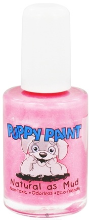 DROPPED: Piggy Paint - Puppy Paint Nail Polish Pampered Pooch Sophisticated Pink - 0.5 oz. CLEARANCE PRICED