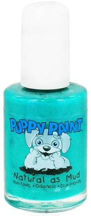 DROPPED: Piggy Paint - Puppy Paint Nail Polish Greener on the Other Side Bright Green - 0.5 oz. CLEARANCE PRICED
