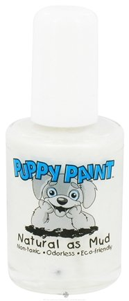 DROPPED: Piggy Paint - Puppy Paint Nail Polish Diamond in the Ruff Shimmery Sparkle - 0.5 oz. CLEARANCE PRICED