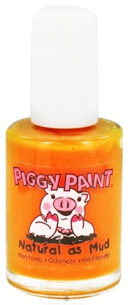DROPPED: Piggy Paint - Nail Polish Mac-n-Cheese Please Vibrant Pumpkin Orange - 0.5 oz.