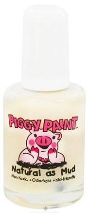 DROPPED: Piggy Paint - Nail Polish Glass Slippers Clear Sparkle - 0.5 oz. CLEARANCE PRICED