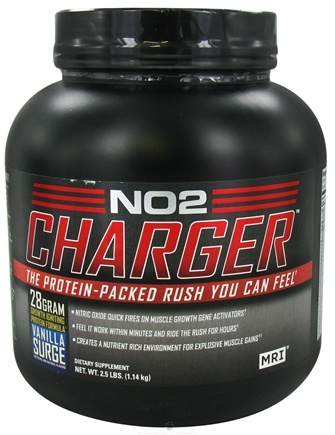 DROPPED: MRI: Medical Research Institute - NO2 Charger Vanilla Surge - 2.5 lbs. CLEARANCE PRICED