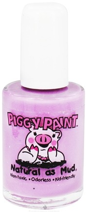 DROPPED: Piggy Paint - Nail Polish Fairy Fabulous Light Pastel Purple - 0.5 oz. CLEARANCE PRICED