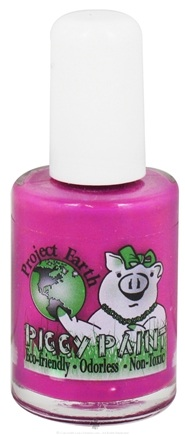 DROPPED: Piggy Paint - Nail Polish Project Earth Groovy Grape Neon Purple - 0.5 oz. CLEARANCE PRICED