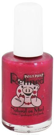 DROPPED: Piggy Paint - Nail Polish Refined How Merlot Can You Go Deep Shimmery Merlot - 0.5 oz.