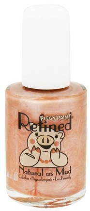 DROPPED: Piggy Paint - Nail Polish Refined In the Flesh Shimmery Nude - 0.5 oz. CLEARANCE PRICED