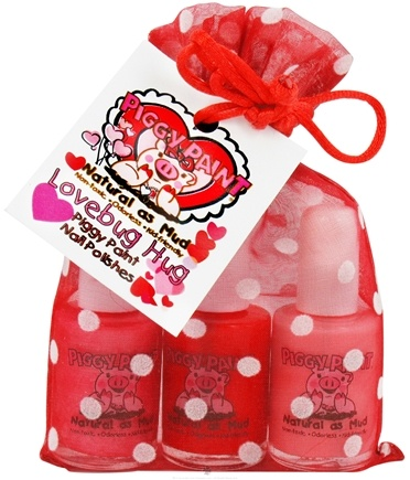 DROPPED: Piggy Paint - Nail Polish Gift Set Lovebug Hug - 3 Piece(s)
