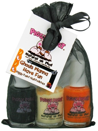 DROPPED: Piggy Paint - Nail Polish Gift Set Ghouls Wanna Have Fun - 3 Piece(s) CLEARANCE PRICED
