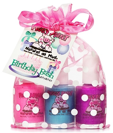 Piggy Paint - Nail Polish Gift Set Birthday Bash - 3 Piece(s)