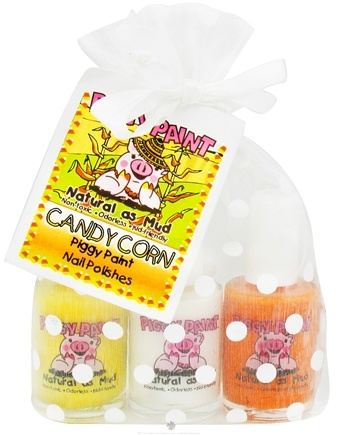 DROPPED: Piggy Paint - Nail Polish Gift Set Candy Corn - 3 Piece(s) CLEARANCE PRICED