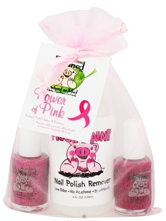 DROPPED: Piggy Paint - Nail Polish Gift Set Power of Pink - 3 Piece(s)