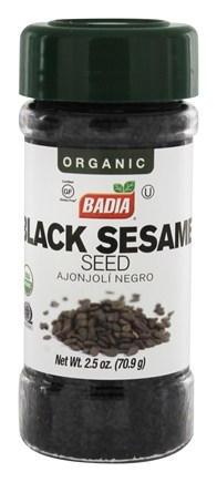 DROPPED: Badia - Organic Black Sesame Seed - 2.5 oz.