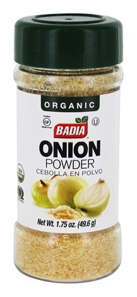 DROPPED: Badia - Organic Onion Powder - 2 oz. CLEARANCE PRICED