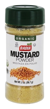 DROPPED: Badia - Organic Mustard Powder - 2 oz. CLEARANCE PRICED