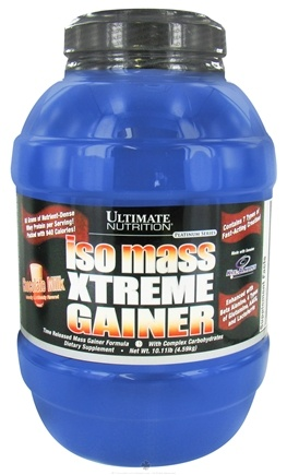 DROPPED: Ultimate Nutrition - Platinum Series Iso Mass Xtreme Gainer Chocolate Milk Flavor - 10.11 lbs.