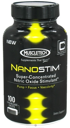 DROPPED: Muscletech Products - NanoStim - 100 Caplets CLEARANCE PRICED