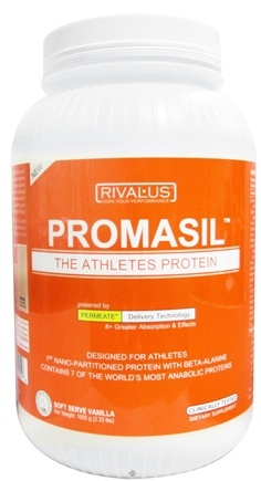 DROPPED: Rivalus - Promasil Soft Serve Vanilla - 2.33 lbs. CLEARANCE PRICED