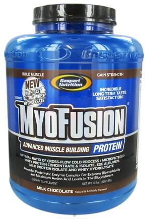 DROPPED: Gaspari Nutrition - Myofusion Advanced Muscle Building Protein Milk Chocolate - 5 lbs. CLEARANCE PRICED