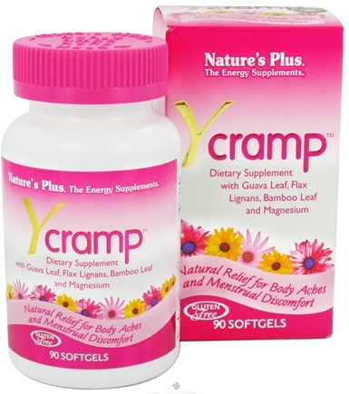 DROPPED: Nature's Plus - Y Cramp - 90 Softgels CLEARANCE PRICED