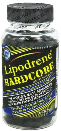 DROPPED: Hi-Tech Pharmaceuticals - Lipodrene Hardcore 700 mg. - 90 Tablets
