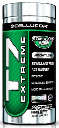 DROPPED: Cellucor - T7 Extreme Stimulant Free Fat Burner - 90 Capsules