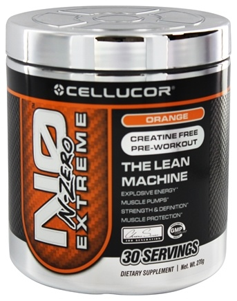DROPPED: Cellucor - N0 Extreme N-Zero Orange - 270 Grams