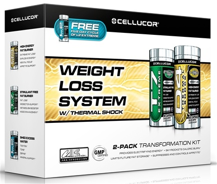 DROPPED: Cellucor - Weight Loss System with Thermal Shock - Free L2 Extreme